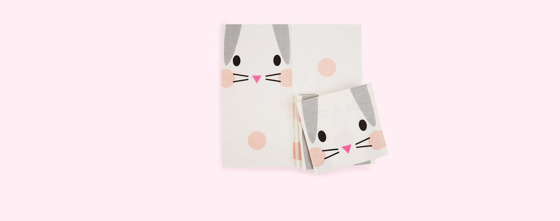 Rabbit My Little Day Rabbit Paper Napkins - 20 Pack