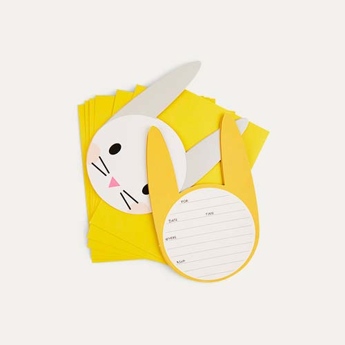 Rabbit My Little Day Mini Rabbit Invitations