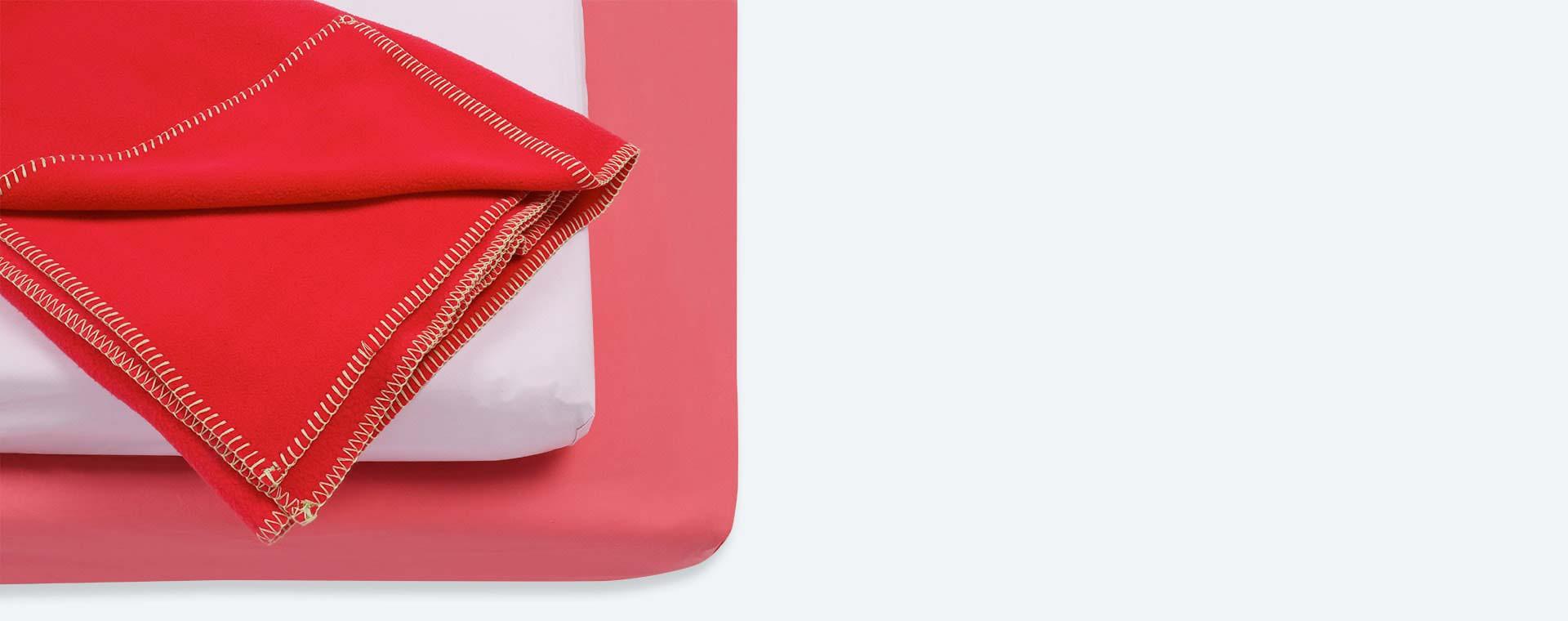 Pink KIDLY Home Cot Bed Bedding Bundle