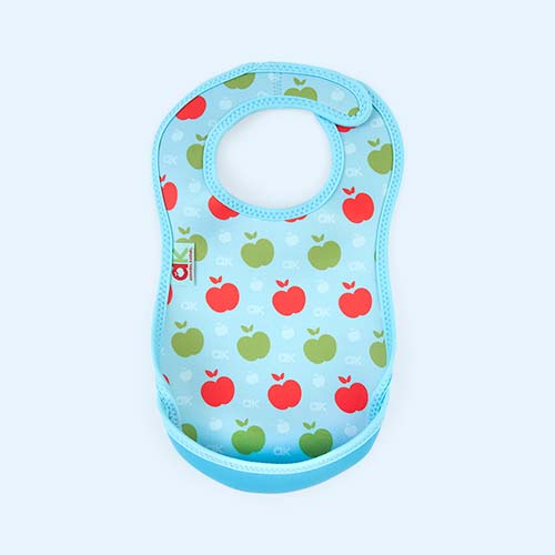 Blue Apples Bibetta Annabel Karmel Ultra Bib