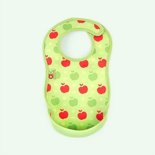 Green Apples Bibetta Annabel Karmel Ultra Bib