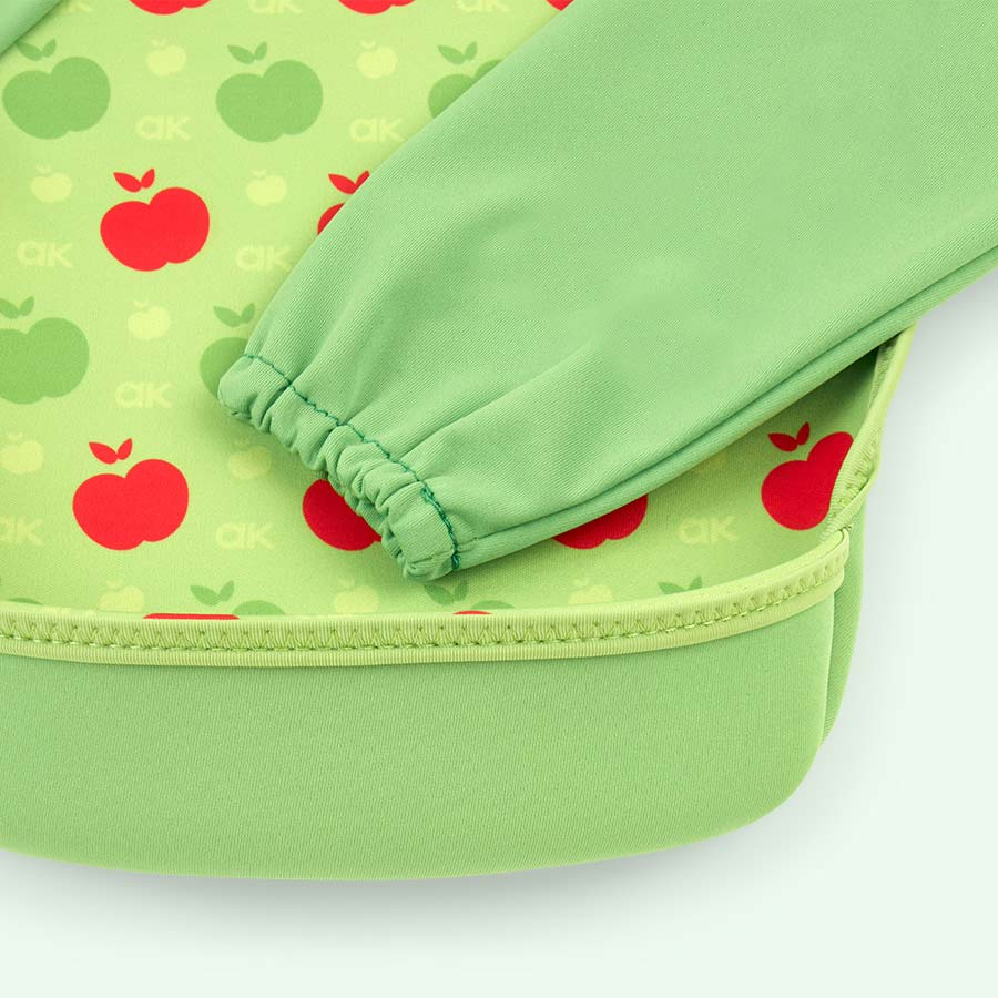 Green Apples Bibetta Annabel Karmel Ultra Bib with Sleeves