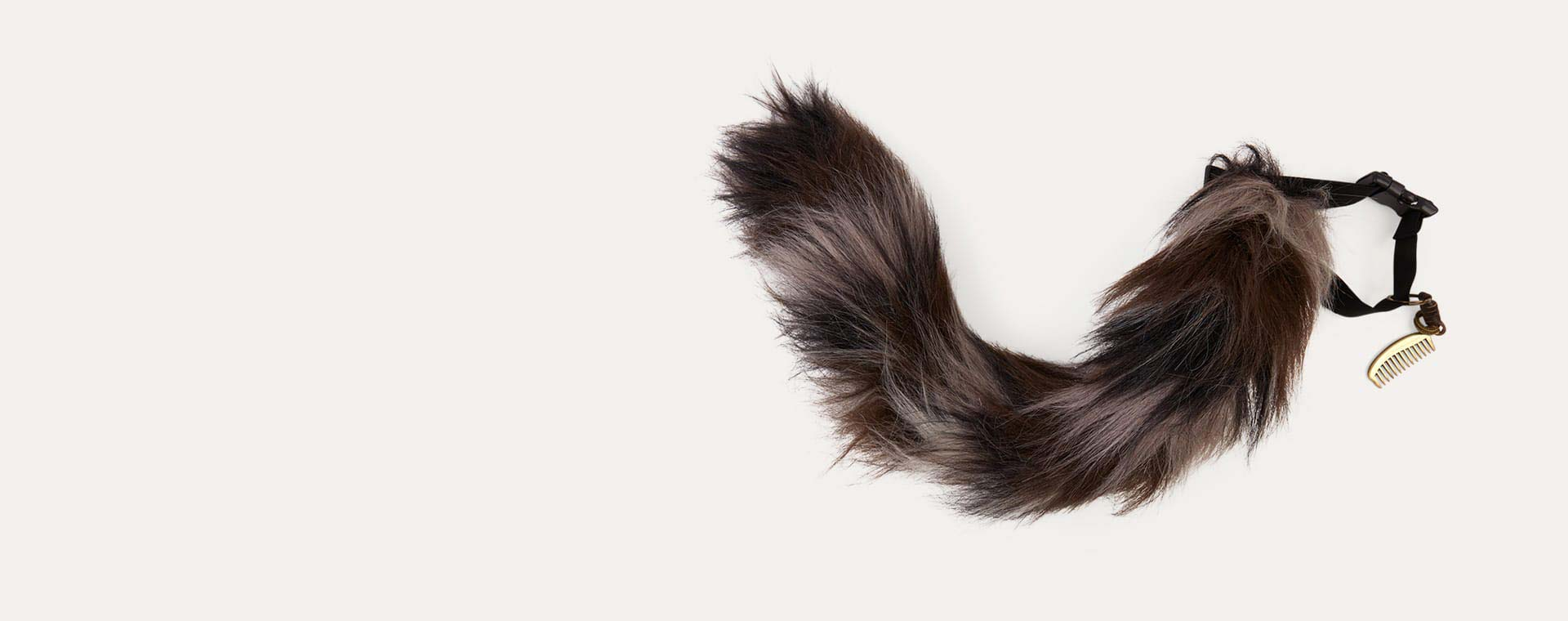 Brown Tell Tails Tabby Cat Tail