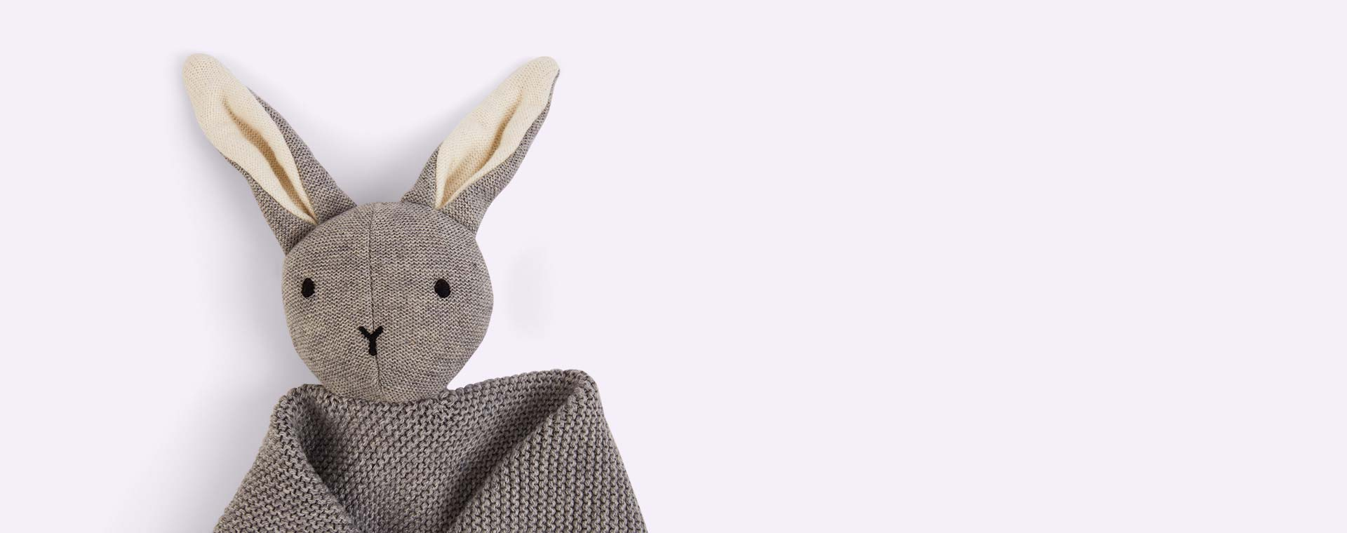 Grey Liewood Milo Rabbit Knit Cuddle Cloth