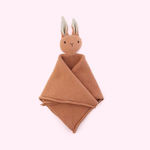 Rabbit Tuscany Rose Liewood Milo Rabbit Knit Cuddle Cloth