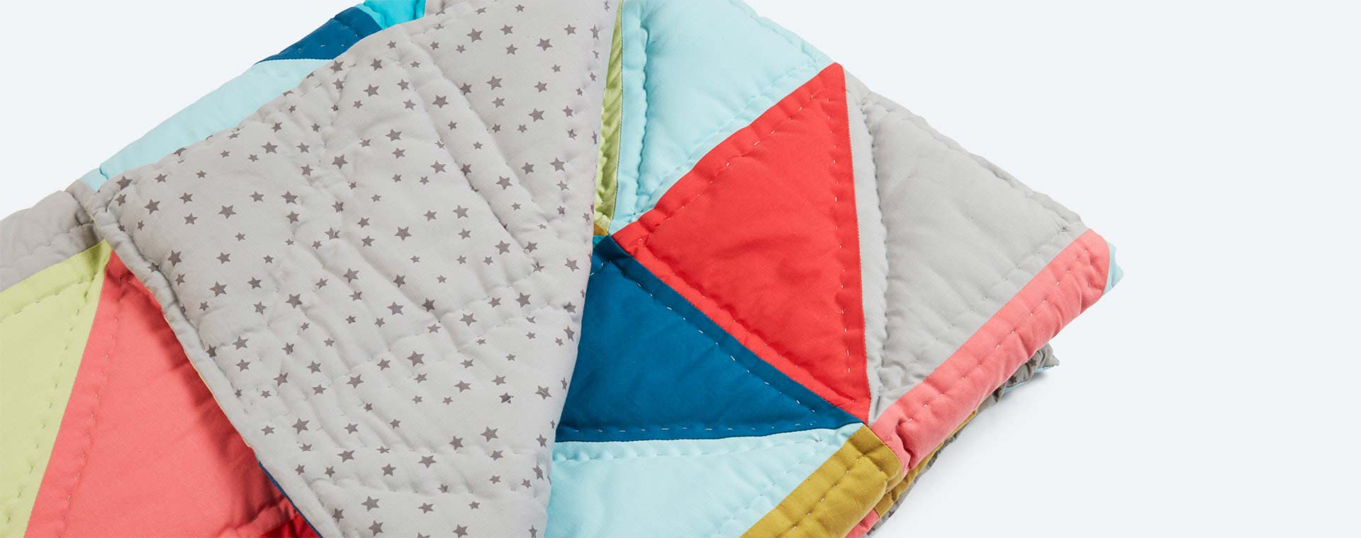 Multi KIDLY Home Patchwork Quilt