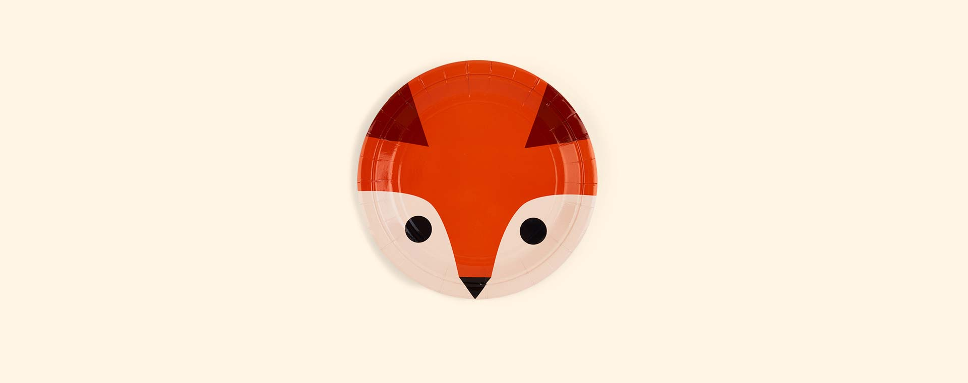 Fox My Little Day Mini Fox Paper Plates