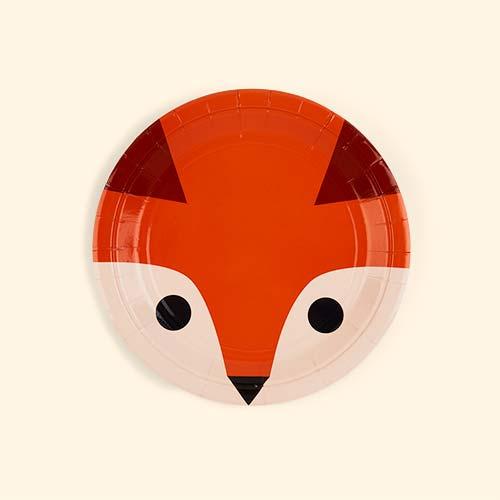 Fox My Little Day Mini Fox Paper Plates