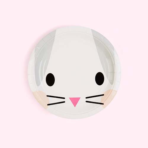Rabbit My Little Day Mini Rabbit Paper Plates