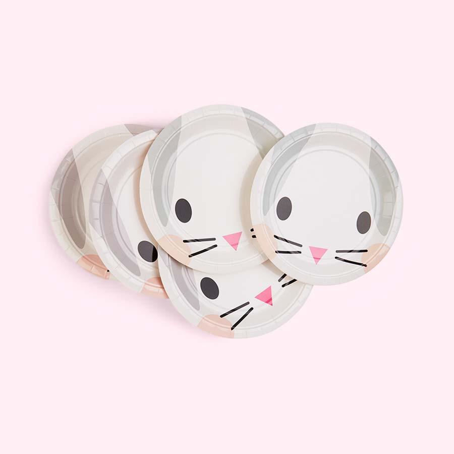 Rabbit My Little Day Mini Rabbit Paper Plates