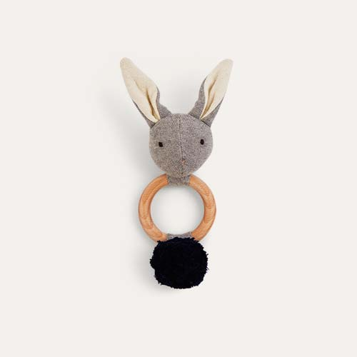 Grey Liewood Aria Rabbit Rattle