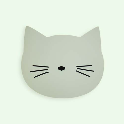 Dusty Mint Liewood Aura Cat Placemat