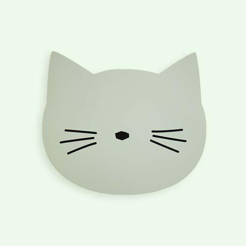 Dusty Mint Liewood Aura Cat Placemat
