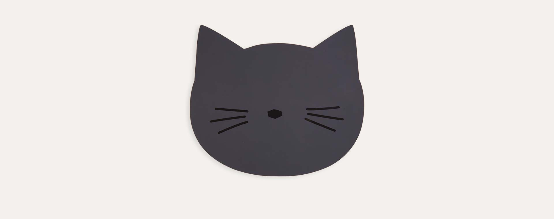 Stone Grey Liewood Aura Cat Placemat