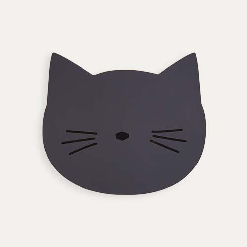 Stone Grey Liewood Aura Cat Placemat
