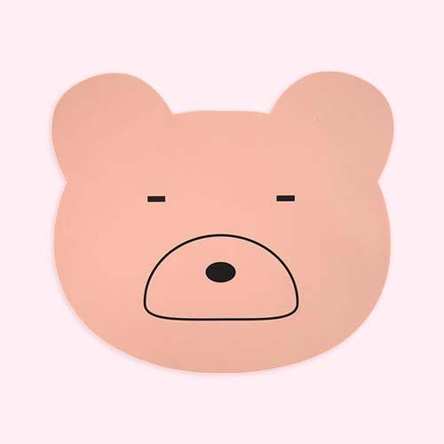 Mr Bear Rose Liewood Aura Bear Placemat