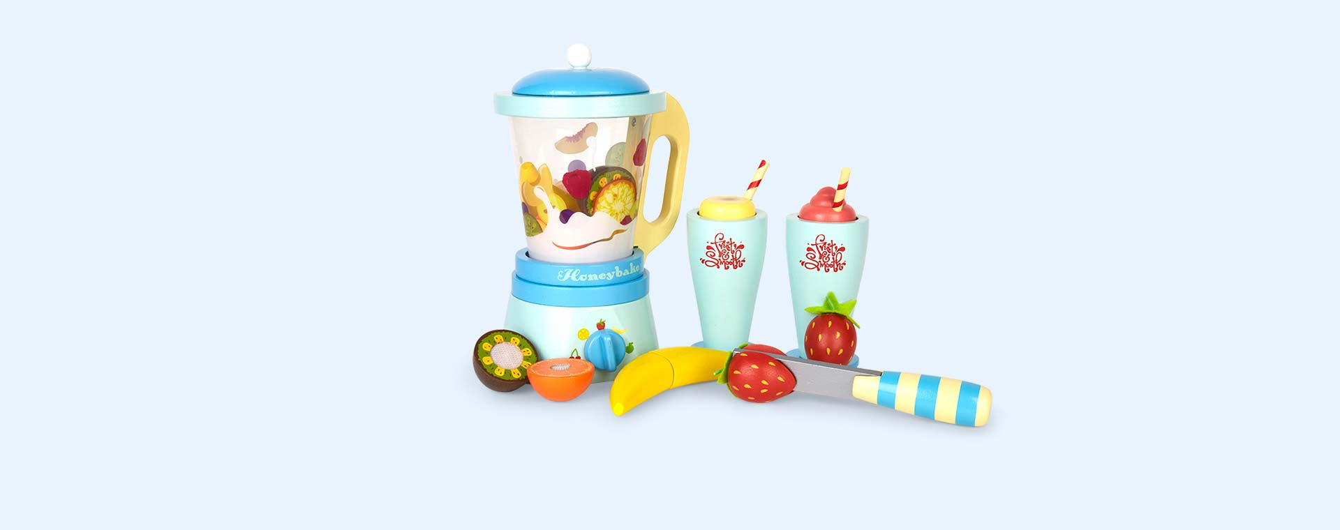 Multi Le Toy Van Blender Set 'Fruit & Smooth'