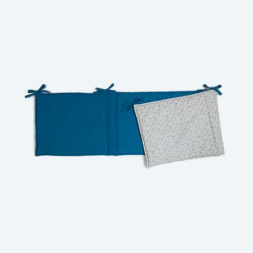 Blue KIDLY Home Reversible Bumper