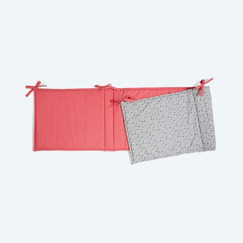 Pink KIDLY Home Reversible Bumper