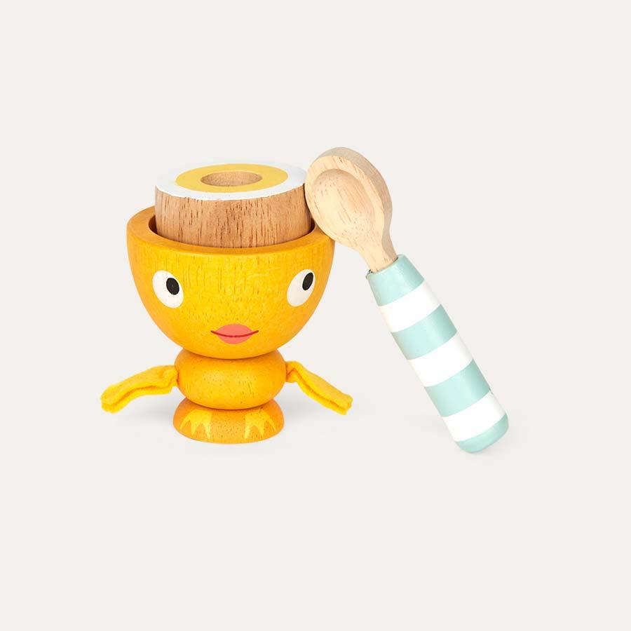 Multi Le Toy Van Egg Cup Set