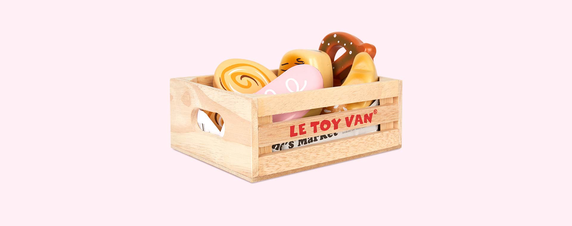 Multi Le Toy Van Bakers Basket Crate Set
