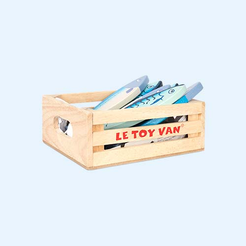Multi Le Toy Van Fresh Fish Crate Set