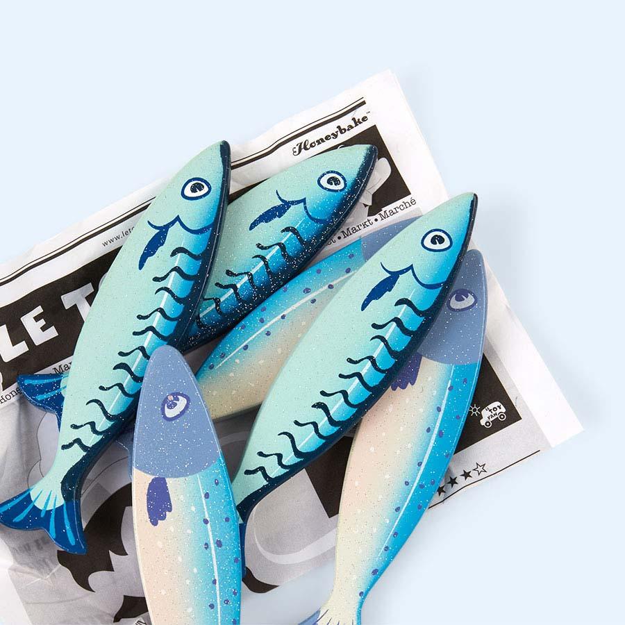 Multi Le Toy Van Fresh Fish Crate Set