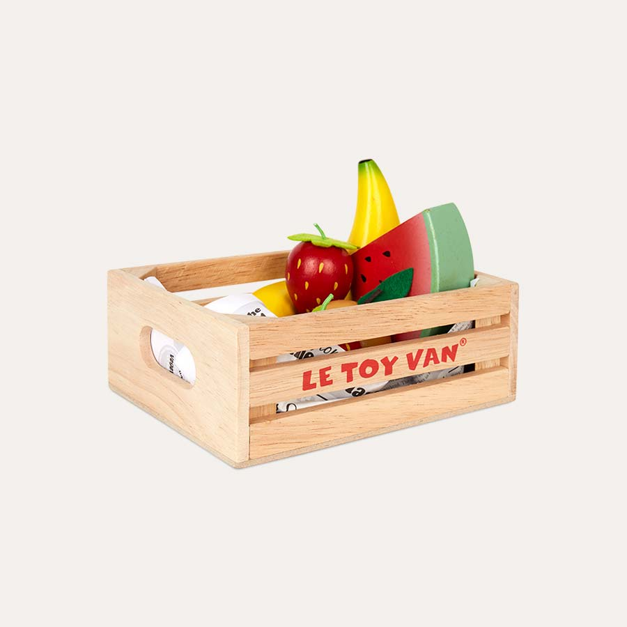 Multi Le Toy Van Five A Day Fruit Crate Set
