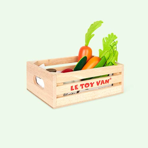 Le Toy Van Five A Day Vegetable Crate Set