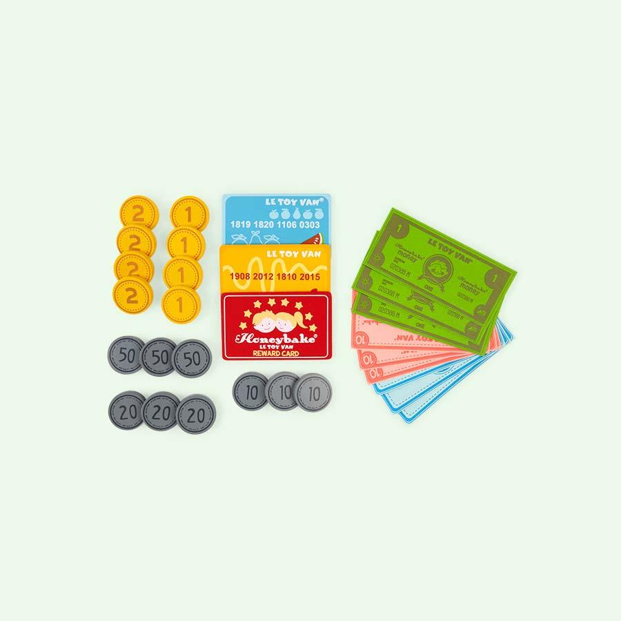 Multi Le Toy Van Play Money Set