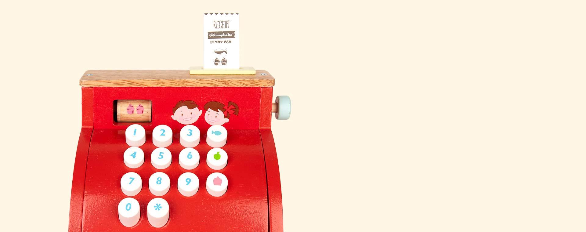 Multi Le Toy Van Cash Register