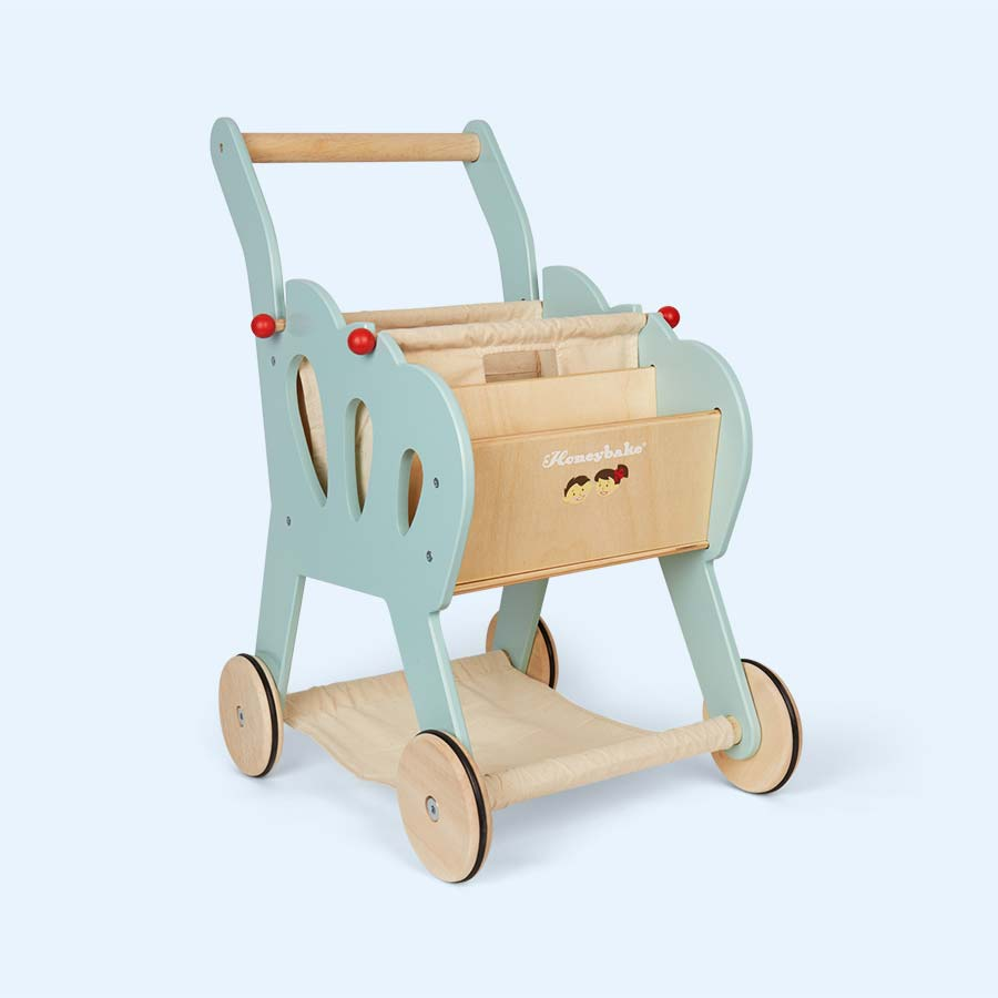 Multi Le Toy Van Shopping Trolley