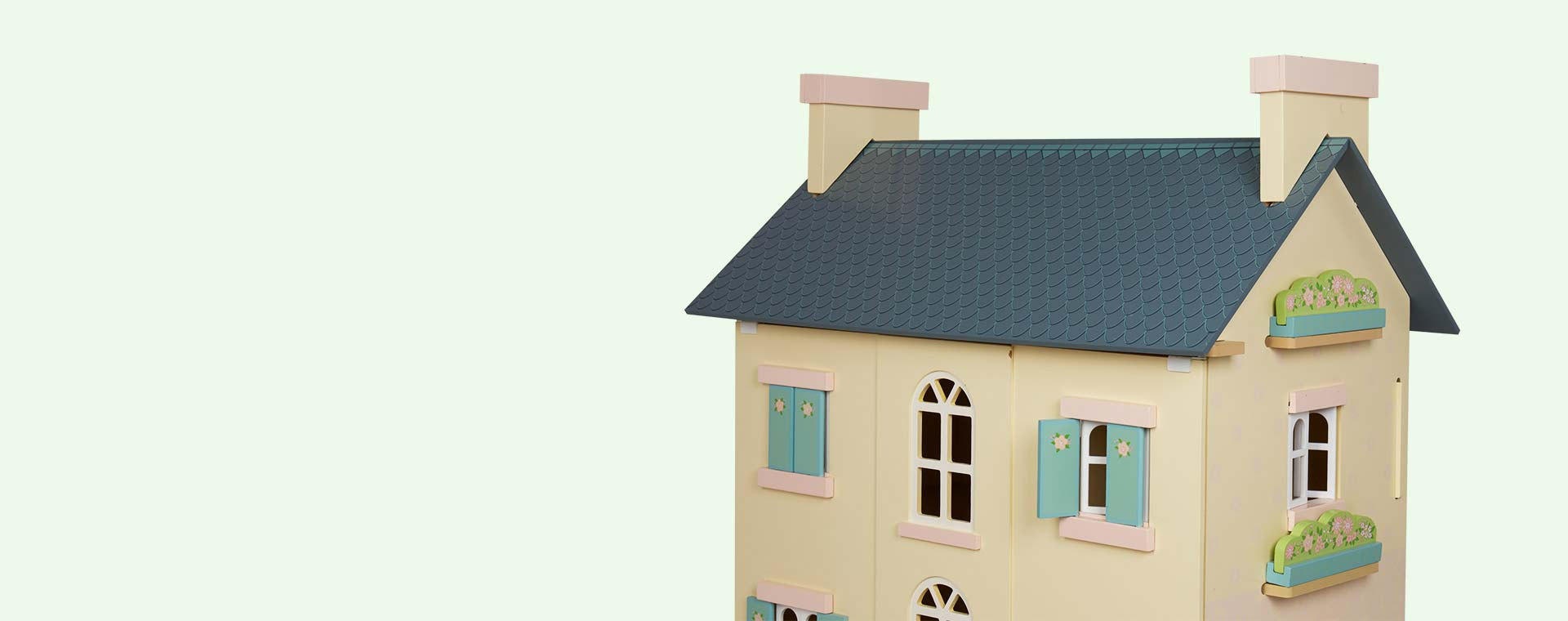 Cream Le Toy Van Cherry Tree Hall Doll's House