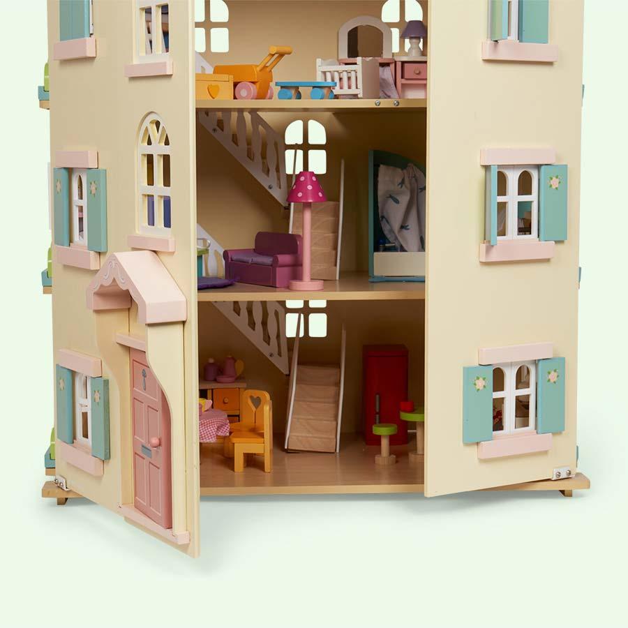 Cream Le Toy Van Cherry Tree Hall Doll's House