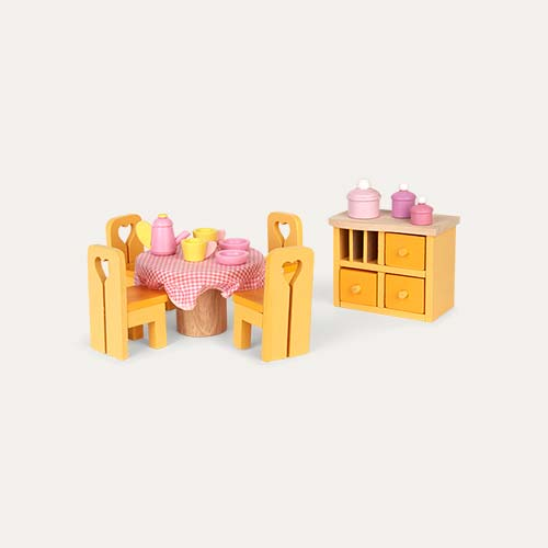 Multi Le Toy Van Sugar Plum Dining Room Set