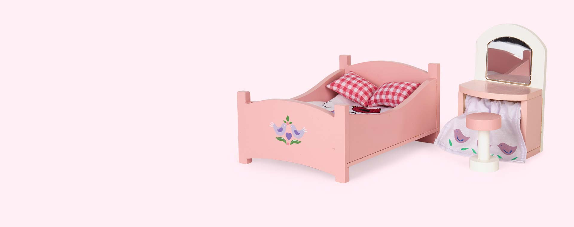 Pink Le Toy Van Sugar Plum Master Bedroom
