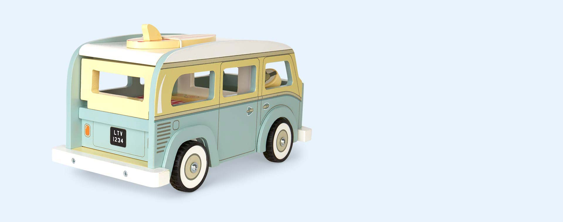 Multi Le Toy Van Holiday Campervan