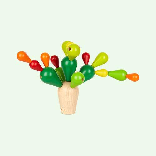 Green Plan Toys Balancing Cactus