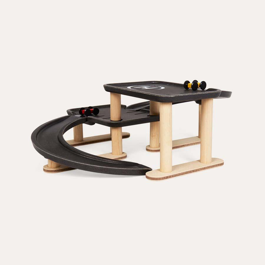 Wooden Plan Toys Race N Play Parking Garage