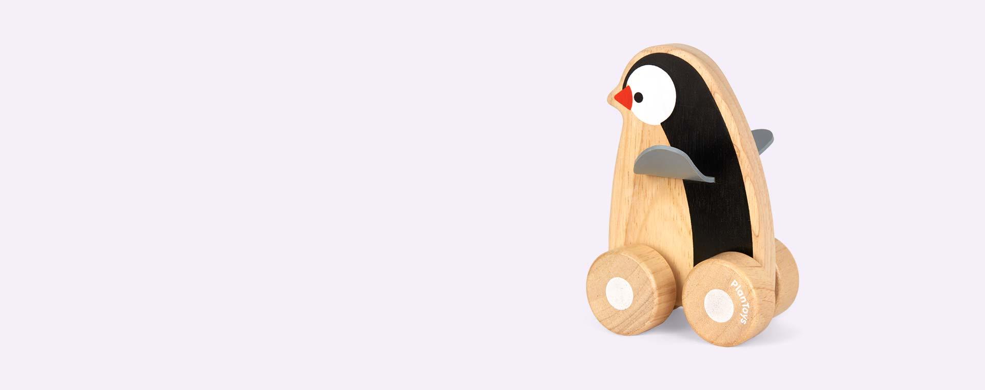 Mono Plan Toys Penguin Wheelie
