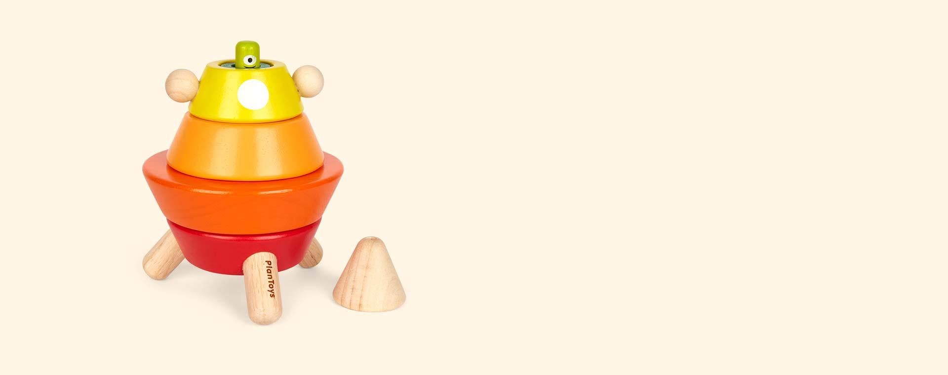 Multi Plan Toys Cone Sorting Rocket