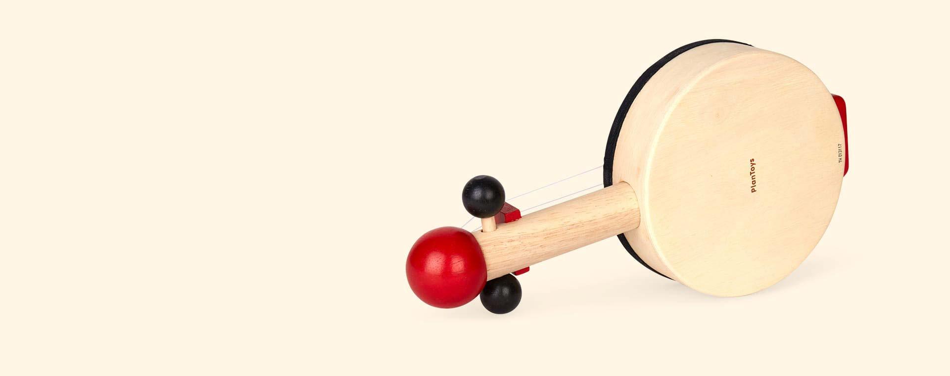 Red Plan Toys Banjo