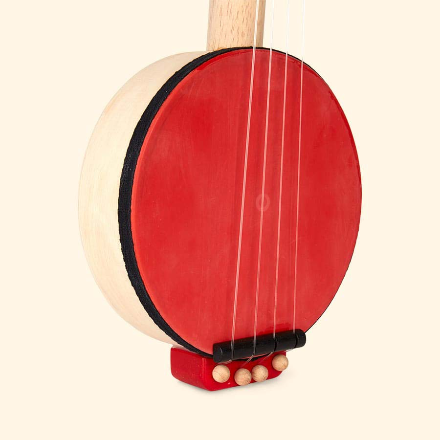Red Plan Toys Banjo