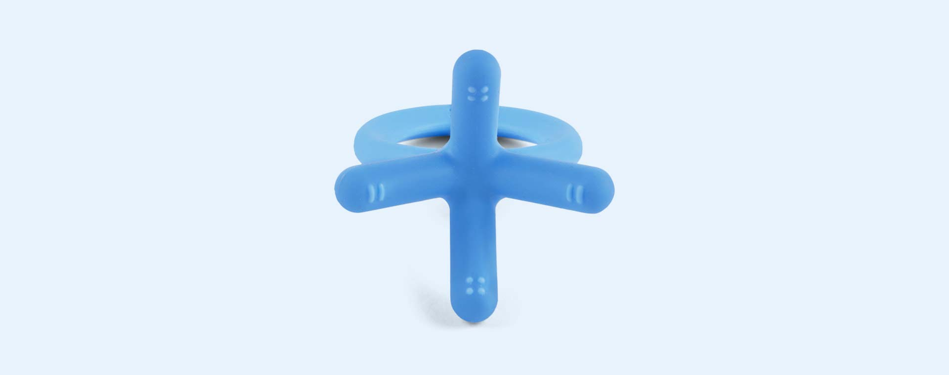 Blue Comotomo Teether Toy