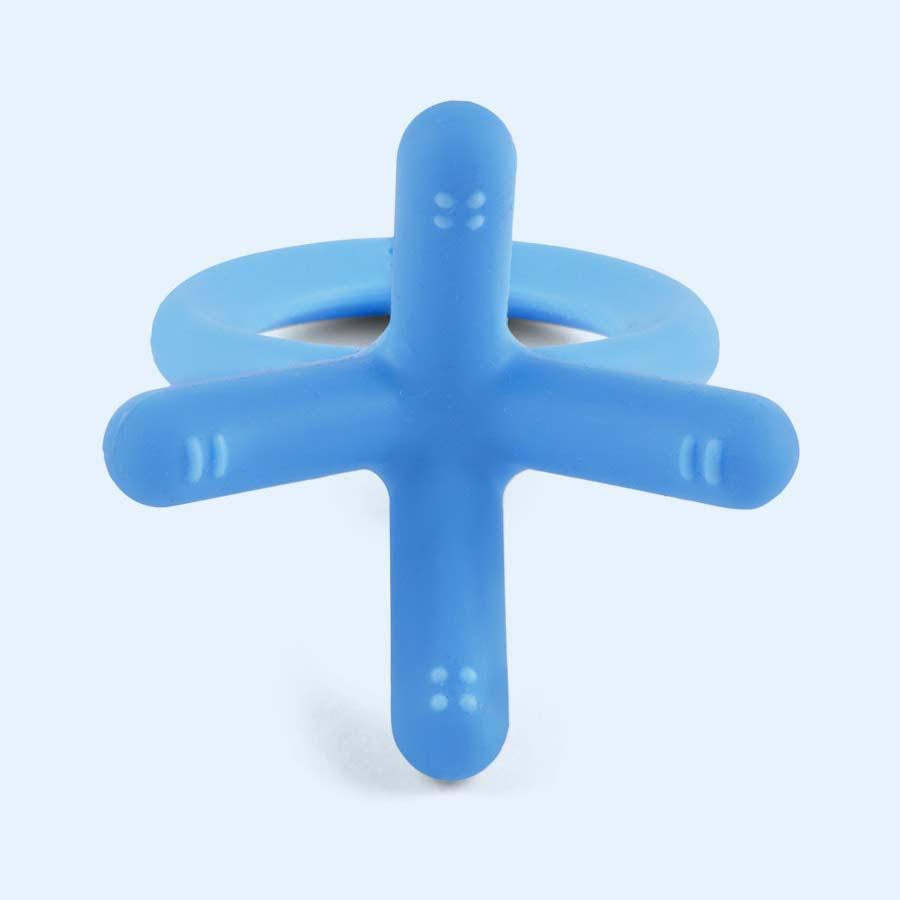 Blue Comotomo Teether Toy