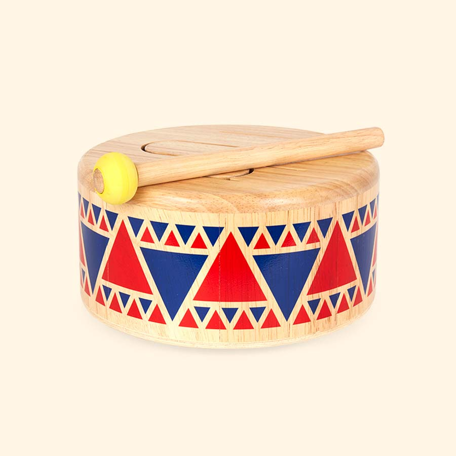 Buy The Plan Toys Solid Drum At Kidly Uk