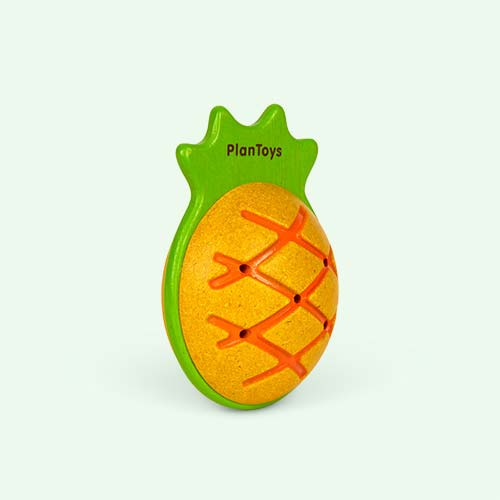 Pineapple Plan Toys Pineapple Maraca