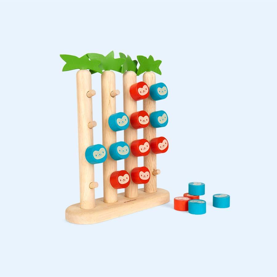 Multi Plan Toys Monkeys in a Row