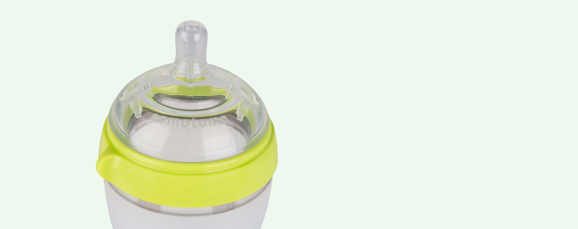 Green Comotomo 5oz Single Bottle