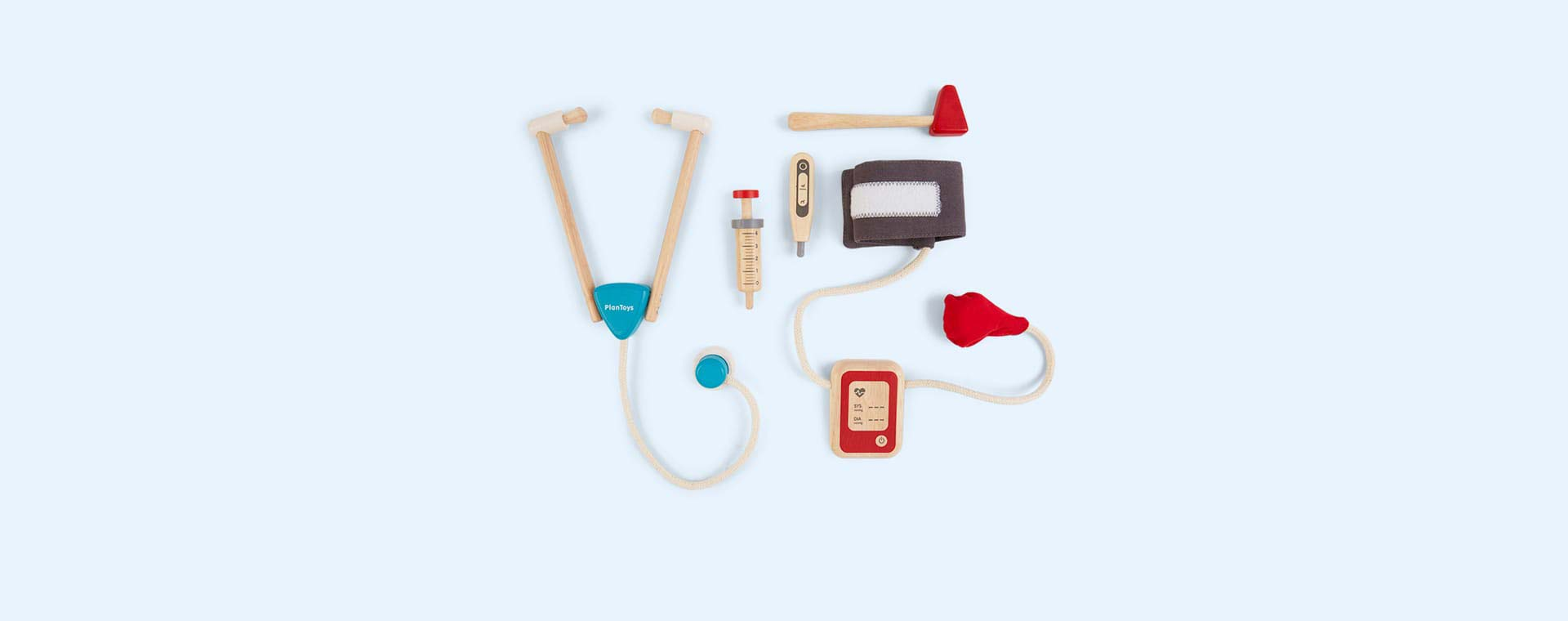 Multi Plan Toys Doctors Set